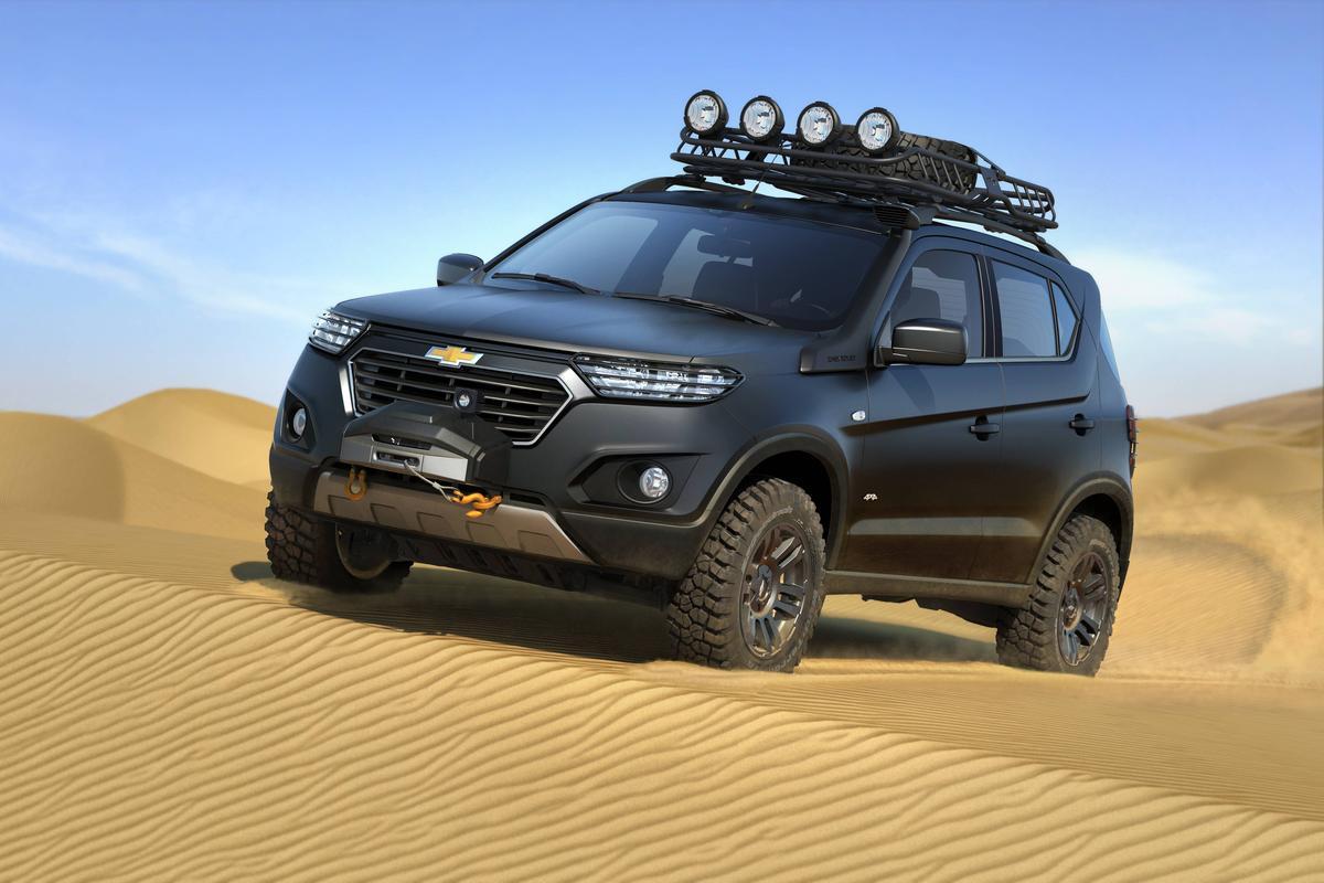 Chevrolet niva 2 2015 покоритель земной и