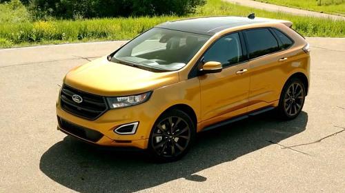 фото нового Ford Edge 2015 года