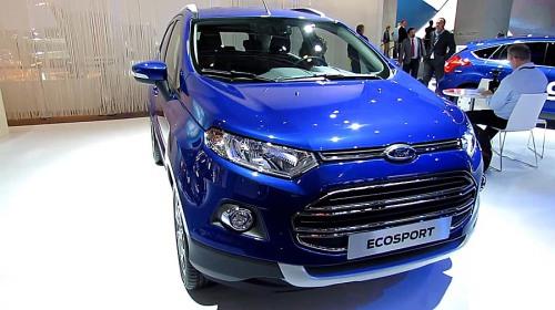 фото Ford EcoSport 2015-2016 года