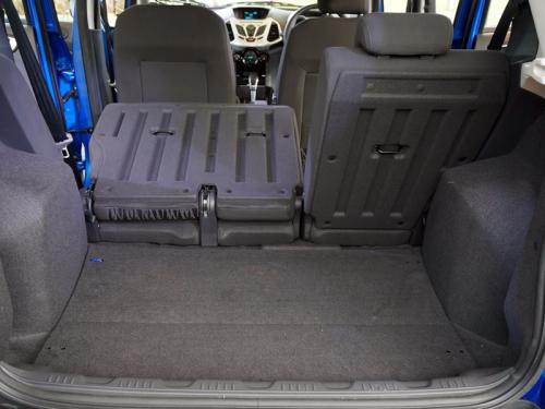 фото багажника Ford EcoSport 2015-2016