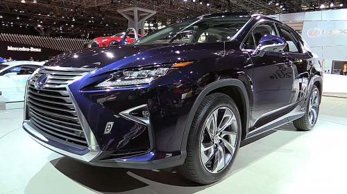 фото Lexus RX 2015-2016 новый