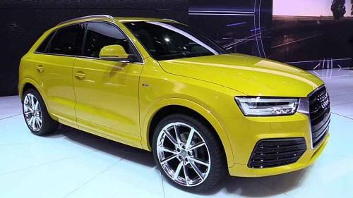 фото нового Audi Q3 2015-2016 года