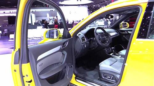 фото салона Audi Q3 2015-2016