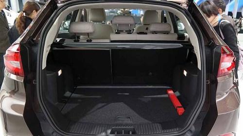 фото багажника  MG GS 2016