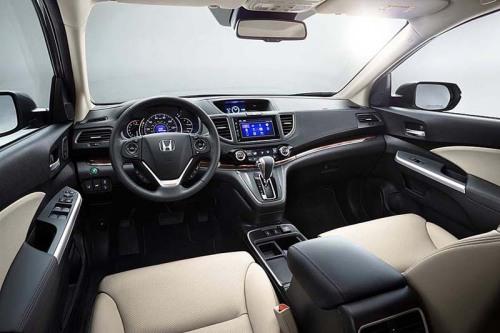 фото панели приборов Honda CR-V 2015-2016