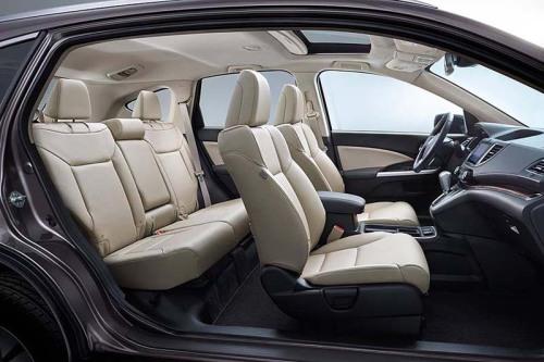 фото салона нового Хонда ЦРВ 2015-2016