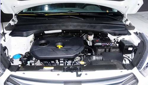 фото двигателя Hyundai Creta 2016-2017