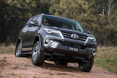 фото Toyota Fortuner 2016-2017