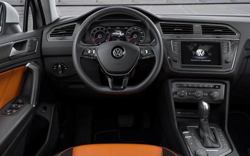 фото салона Volkswagen Tiguan 2
