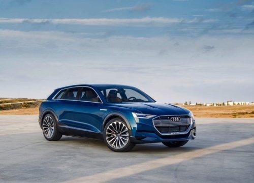 фото Audi e-tron quattro 2016