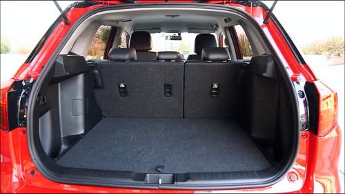 фото багажника Сузуки Витара S класса 2016-2017