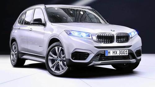 фото BMW X3 2017 года