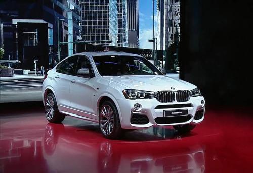 фото BMW X4 M40i 2016-2017