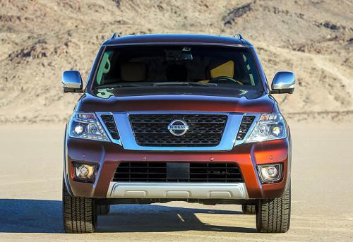 фото Обновленный Nissan Armada 2016-2017
