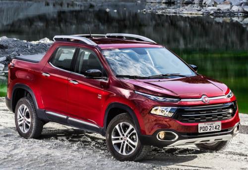 фото Pick-up Fiat Toro 2016-2017