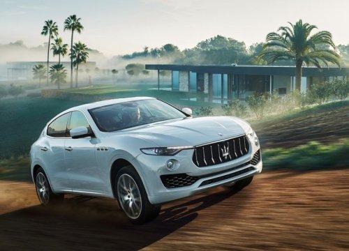 фото кроссовер Maserati Levante