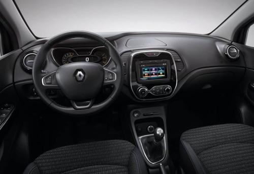 фото салона Renault Kaptur 2016-2017