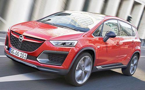 Новую модель Opel Meriva (Опель Мерива) превратят в кроссовер