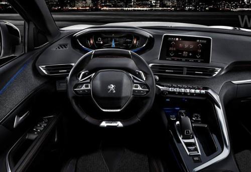 фото панели приборов Peugeot 3008 GT