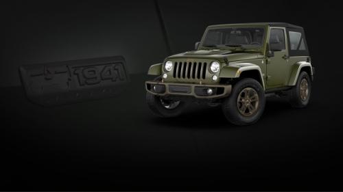 Jeep Wrangler 75 Anniversary 2016