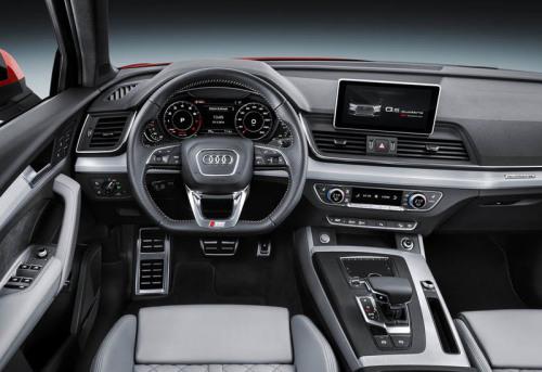 фото панели приборов Audi Q5 2017-2018