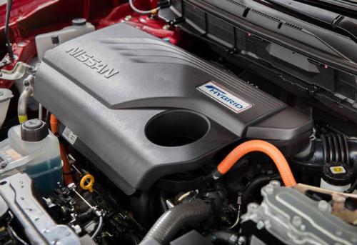 фото двигателя Nissan Rogue 2017-2018