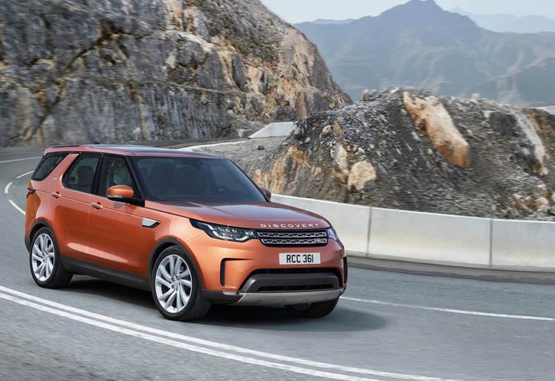 Пятое поколение — Land Rover Discovery 2017 года