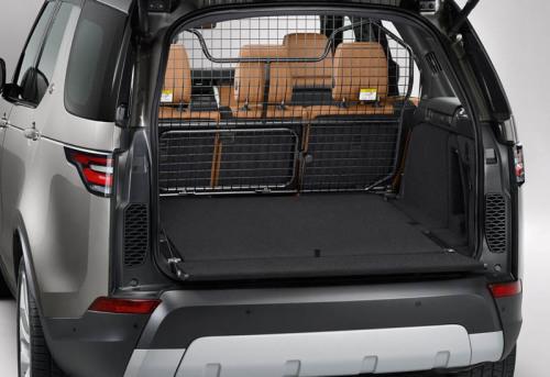 фото багажника Land Rover Discovery 2017