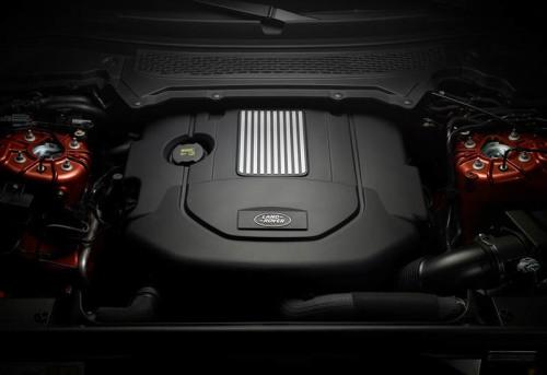 фото двигателя Land Rover Discovery 2017-2018