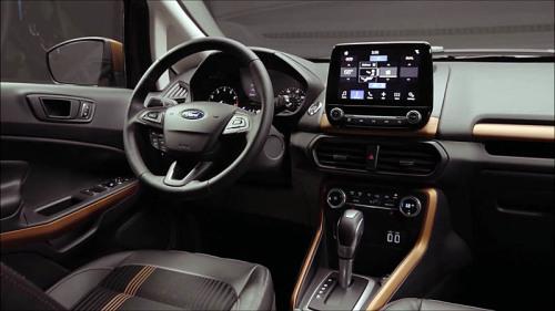 фото панели приборов ford ecosport 2017-2018