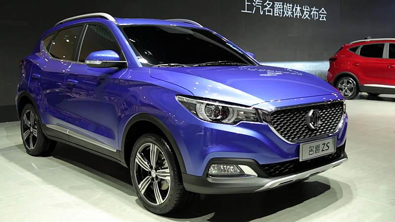 MG ZS 2017-2018 – новый кроссовер из Китая