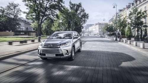 фотографии Toyota Highlander 2017 года