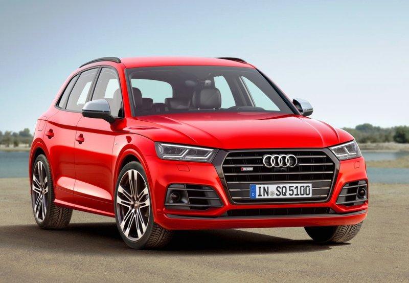 Audi SQ5 2017-2018 – обновленный немецкий спорт-кроссовер