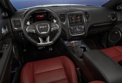 фото панели приборов новый Dodge Durango SRT