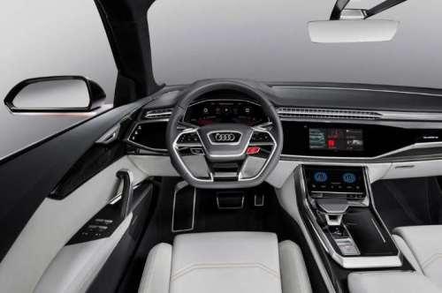 фото Audi Q8 Sport 2017-2018