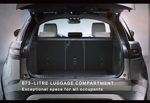 фото багажника Range Rover Velar