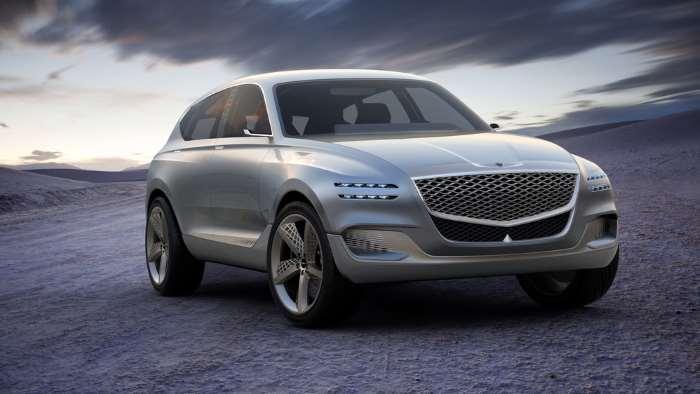 Новинку суббренда Hyundai кроссовер Genesis представят уже в этом году