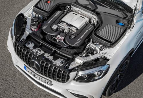 фото двигателя Mercedes-AMG GLC 63 2017-2018