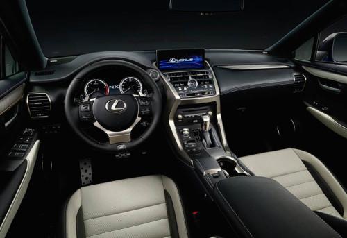 фото салона Lexus NX 2017-2018