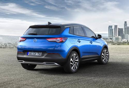 Кроссовер Opel Grandland X 2017-2018 фото видео цена Опель Грандланд Х