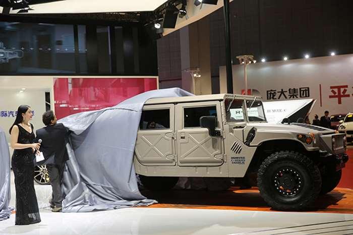 Легендарный Hummer возродился в Humvee C-Series