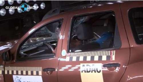 Тесты Global NCAP Renault Duster
