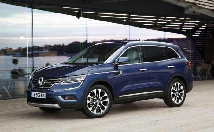 Renault Koleos второй генерации