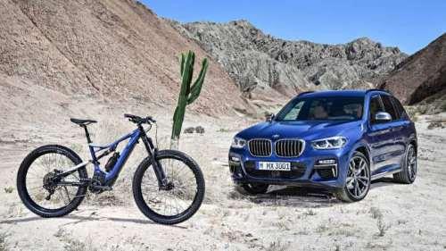 Велосипед Turbo Levo для BMW Х3
