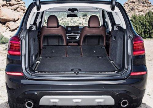 фото багажника BMW X3 2018