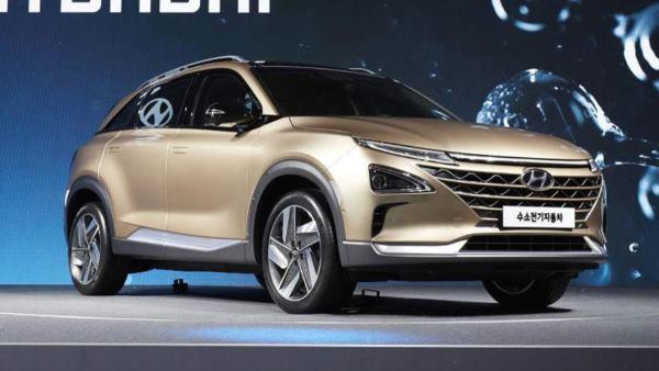 Новый водородный кроссовер от Hyundai