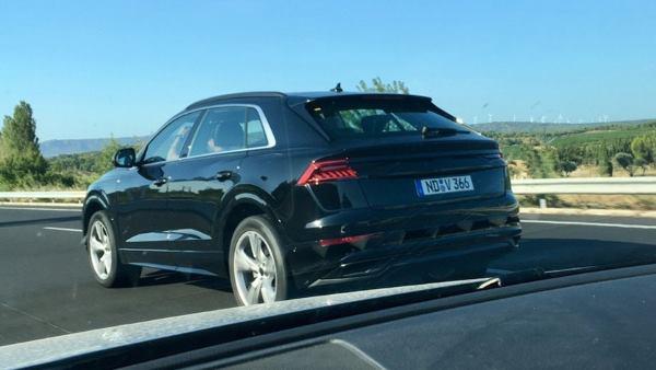 Серийный Audi Q8 не получит «фишек» концепта