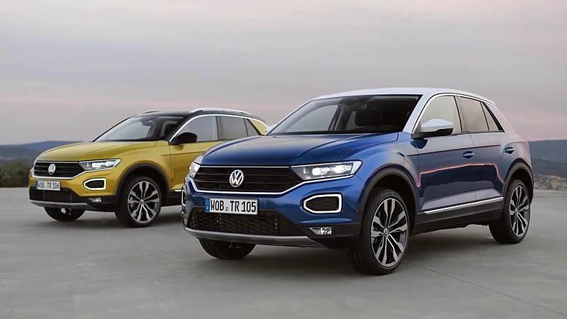 Volkswagen T-Roc 2018 — пополнение в линейке кроссоверов