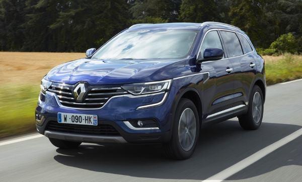 Новые цены на дизельный Renault Koleos