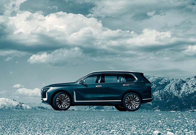 Предвестника БМВ Х7 представили в лице —  BMW X7 iPerformance concept